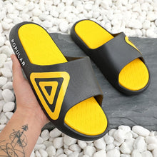 Load image into Gallery viewer, ASIFN Men Fashion Beach Slippers Summer Home Simple Couple Flip Flops Outdoor Bathroom Non-slip Solid Mens Shoes Chanclas Hombre