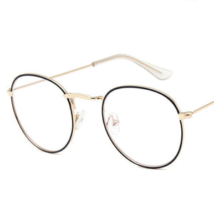 Yoovos 2020 Glasses Frame Women Luxury Round Eyeglasses Frames Vintage Brand Designer Okulary Blue Light Eyewear Gafas De Mujer