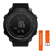 Load image into Gallery viewer, NORTH EDGE Men's sport Digital watch Hours Running Swimming Military Army watches Altimeter Barometer Compass waterproof 50m