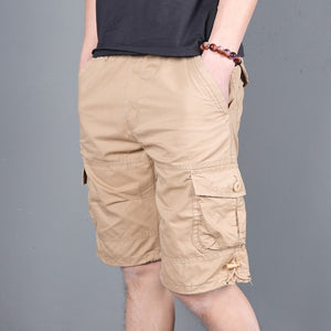 MRMT 2020 Brand Summer Men's Fashion Leisure Five Short Pants for Male Loose Multi-pocket Tooling Short Pants