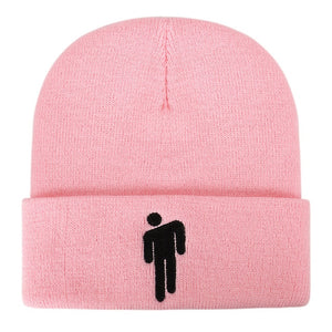 2020Autumn Winter Beanie Creative Fashion Knitted Hat With Embroidery Pattern Casual Solid Color Hip hop Cap Knitted Wool Hats