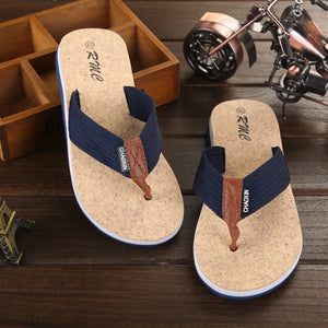 Summer Men Flip Flop Shoes High Quality Beach Holiday Sandals Non-slide Male Slippers Men Flats Casual Shoes free delivery