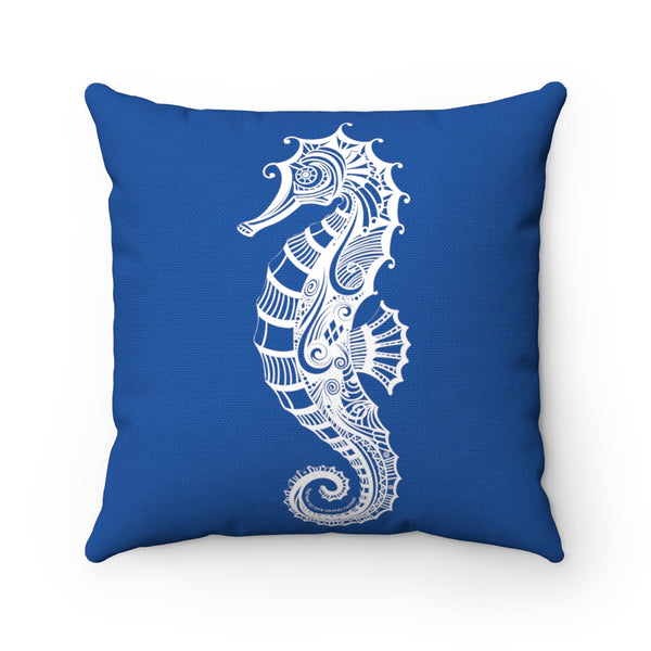 SEAHORSE Square Pillow - 4 sizes
