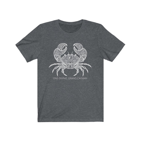 White CRAB T-shirt - Unisex - 5 colors
