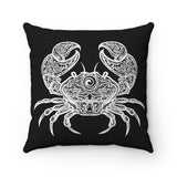 CRAB Square Pillow - 4 sizes