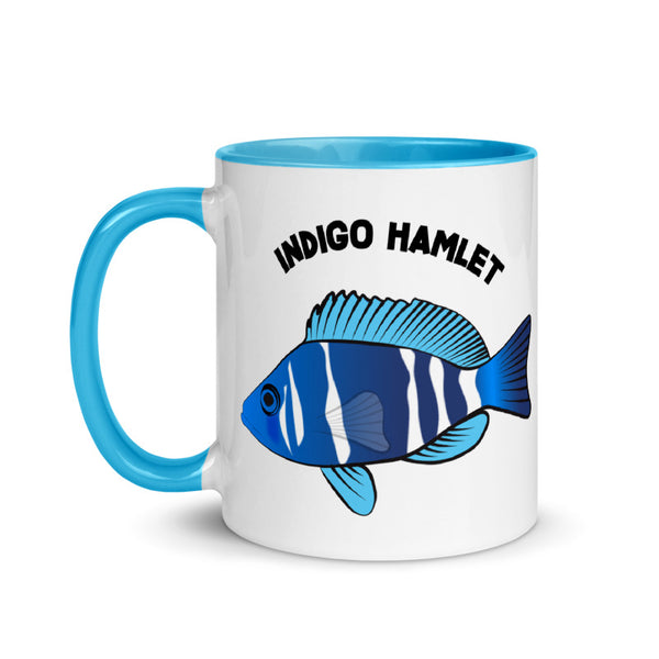 INDIGO HAMLET Mug with Blue Inside 11oz