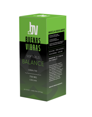 BALANCE - CBD Softgels Curcumina  750mg
