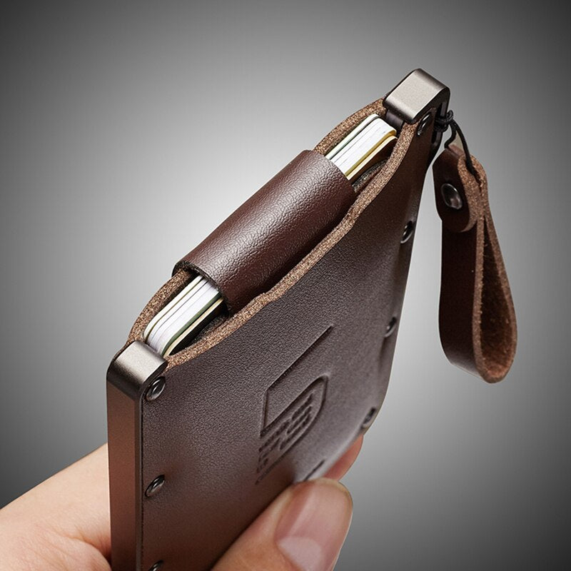 Woodzdark Wallet Business Vintage