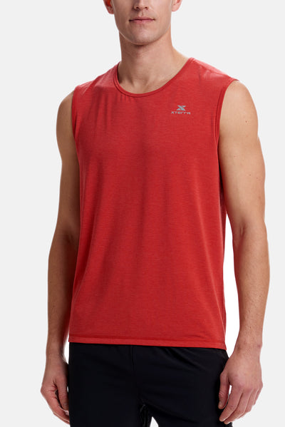 Men's Vent Tank Red