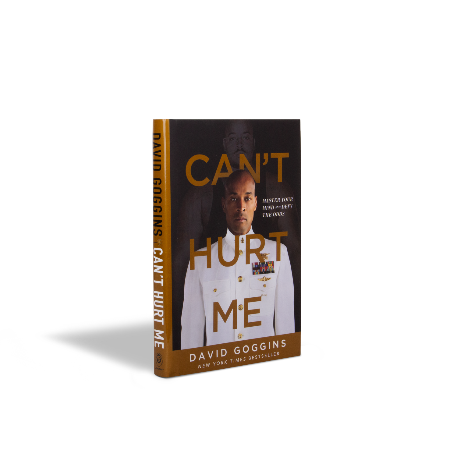 Autographed Hardcover Copy of Can't Hurt Me