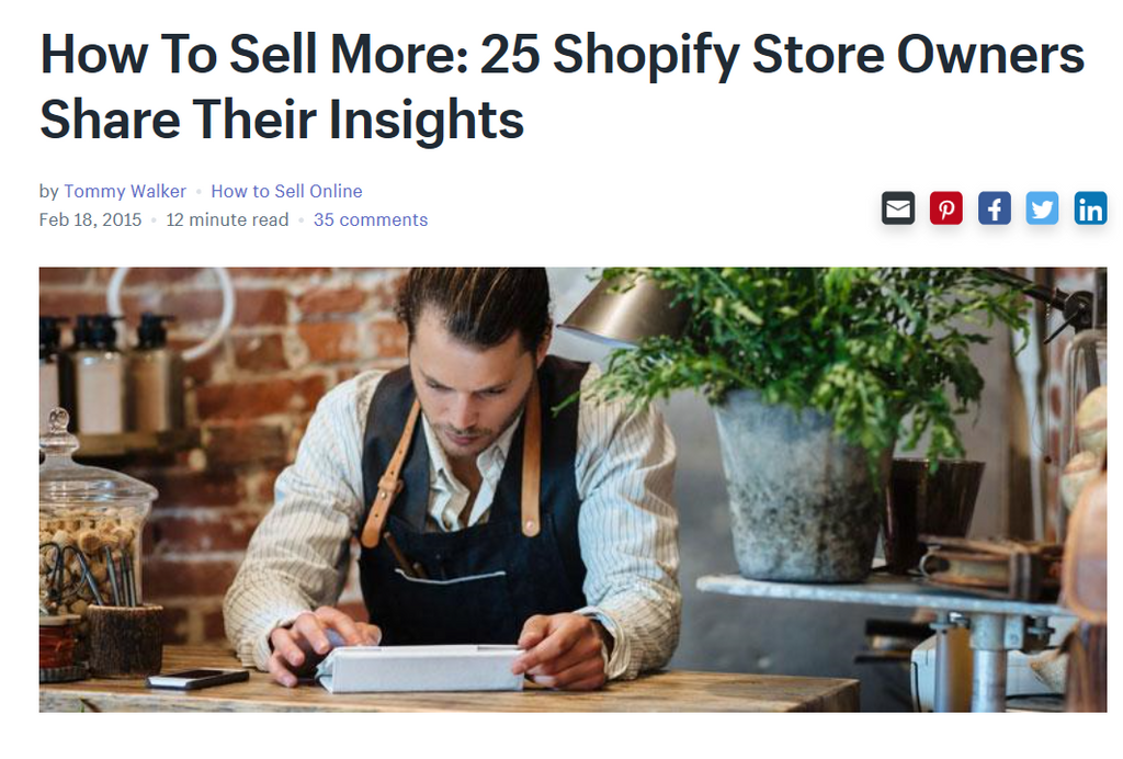 Marc Wenn at 25 Shopify Store Owners insights