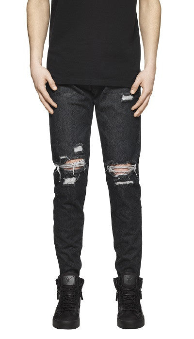 Destroyed Denim - Stonewash