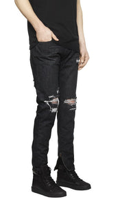 Essential Destroyed Denim - Stonewash