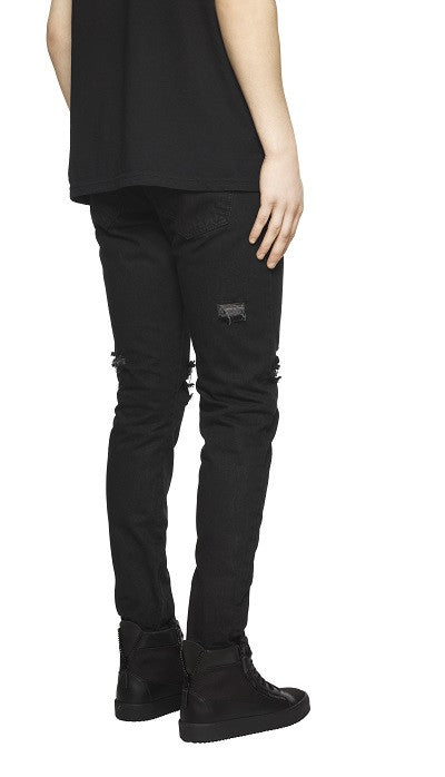 Destroyed Denim - Black