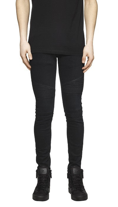 Biker Denim - Black @marcwenn.com