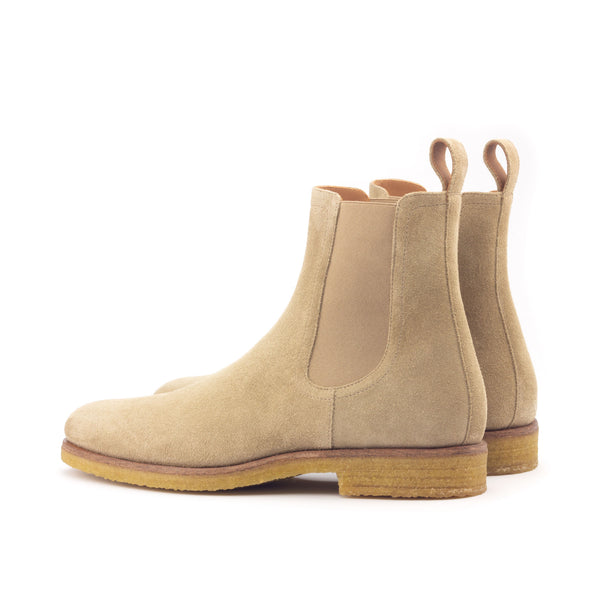 Chelsea Boots - Tan Suede