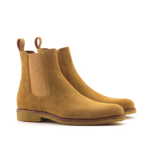 Tennessee Whiskey Chestnut Crepe Chelsea Boots