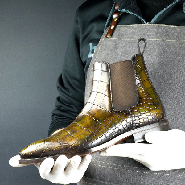 Crocodile Cairo Chelsea Boot
