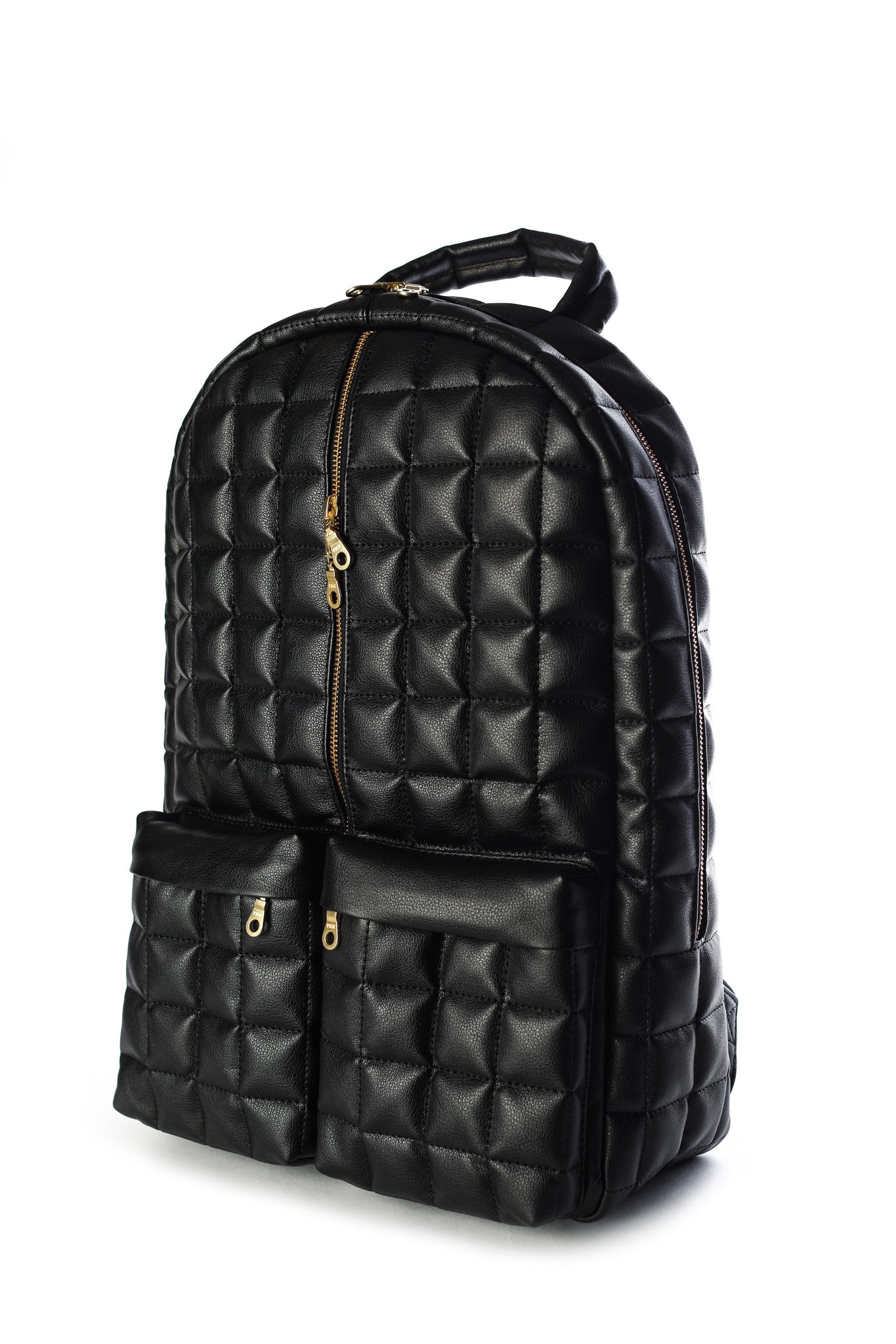 Marc 1 Backpack- Black Grain leather PRE ORDER [January 15th *Release*]