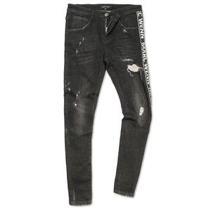 Side Stripe Destroyed Jeans by Marc Wenn