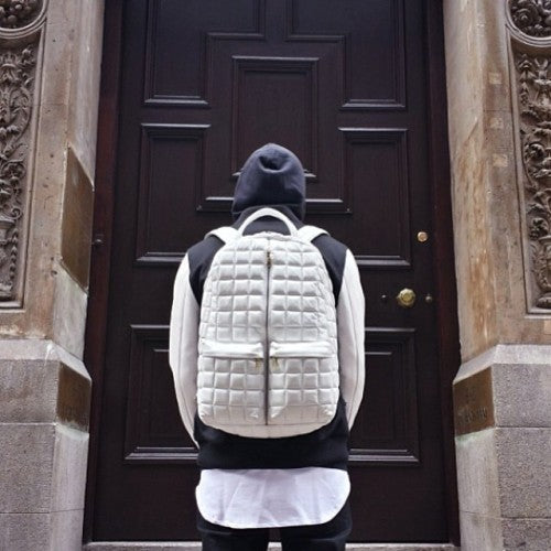 Marc 1 Backpack (Colgate White)