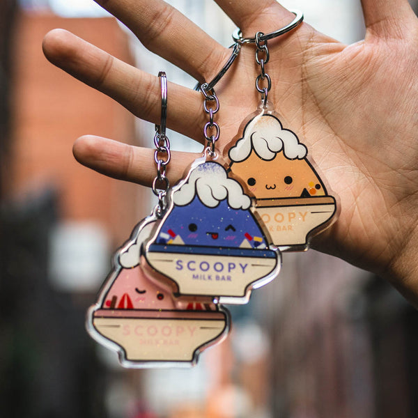 Scoopy Acrylic Charm Pack