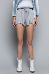 POL Softy Lounge Shorts-Grey