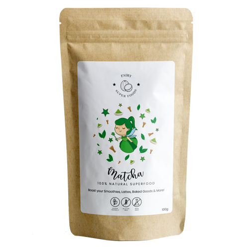 ORGANIC PREMIUM MATCHA POWDER-Fairy Superfoods