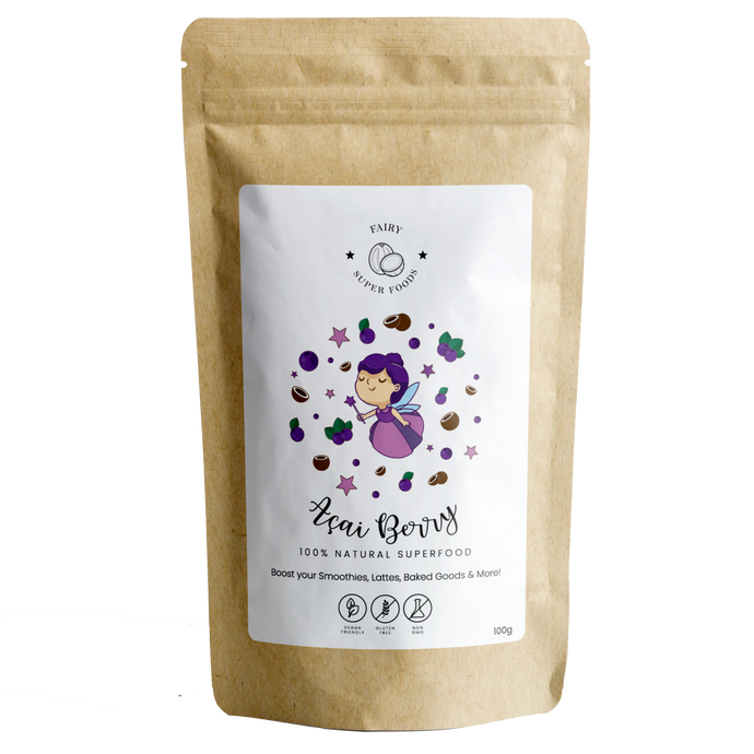 ORGANIC AÇAI BERRY POWDER-Fairy Superfoods