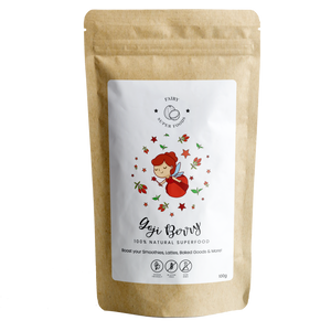 ORGANIC GOJI BERRY POWDER-Fairy Superfoods