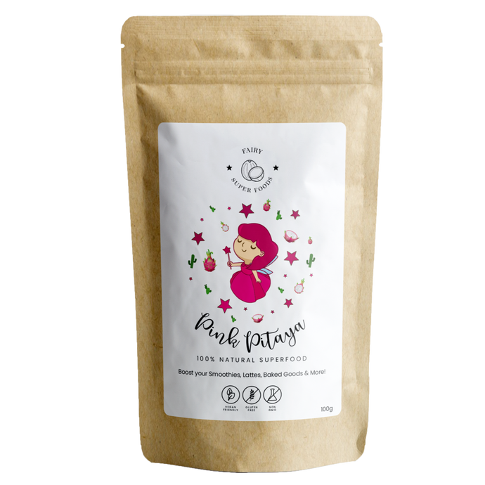 Pink pitaya powder, Dragon fruit powder, Pink pitaya poeder