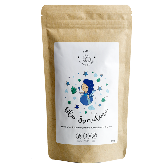 BLUE SPIRULINA POWDER-Fairy Superfoods