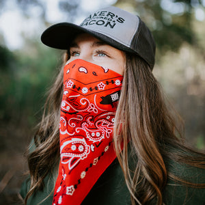 Baker's Bacon merch - bandana