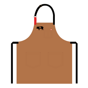 Baker's Bacon merch - Hedley & Bennett Custom Apron