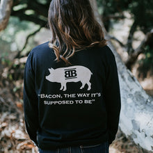 Load image into Gallery viewer, Baker's Bacon merch - long sleeve shirt