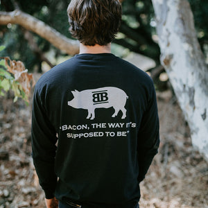 Baker's Bacon merch - long sleeve shirt