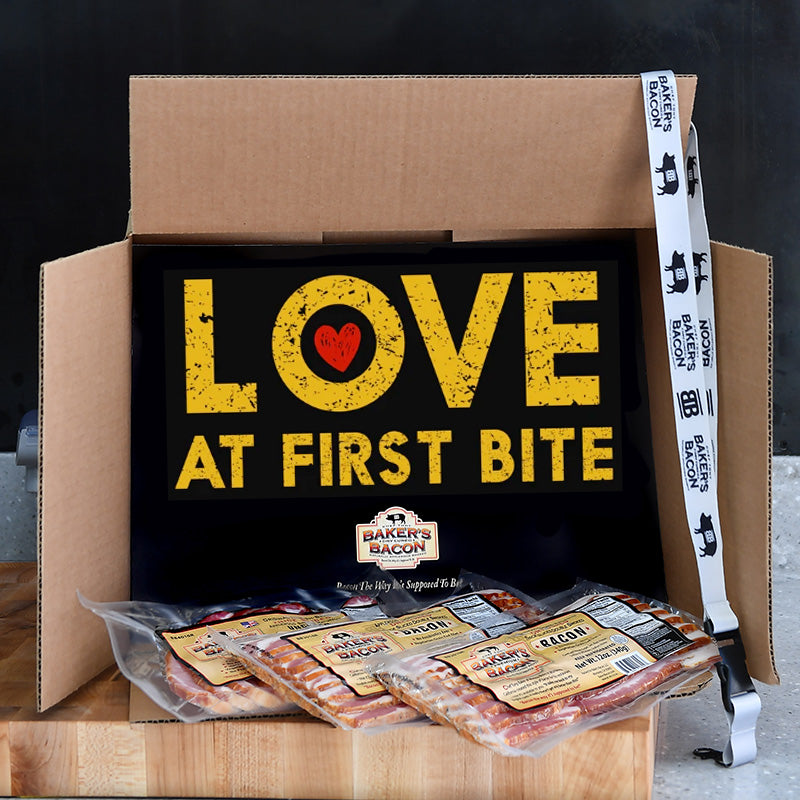 Baker's Bacon Gift Box - Love at First Bite