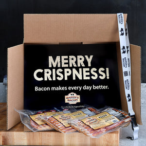 Baker's Bacon Gift Box - Merry Crispness