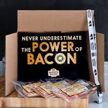Load image into Gallery viewer, Baker's Bacon Gift Box - Never underestimate the power of bacon