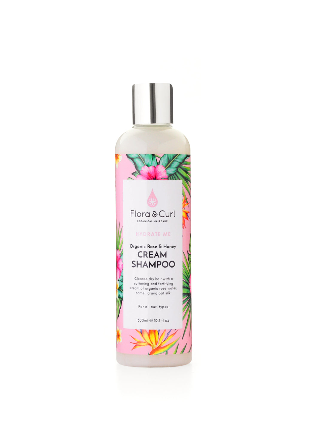 Organic Rose & Honey Cream Shampoo 300 ml