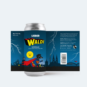 Superwaldi (DDH New England IPA) | 4-Pack