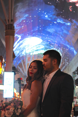Fremont Street Photoshoot | #MarriedInVegas Studios