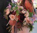 Custom Floral Arrangement | #MarriedInVegas Studios