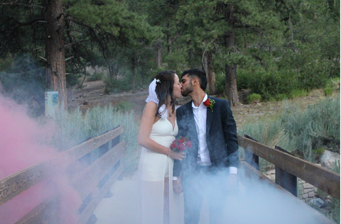 Smoke Bomb Photoshoot