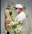 #JustMarried Face Mask