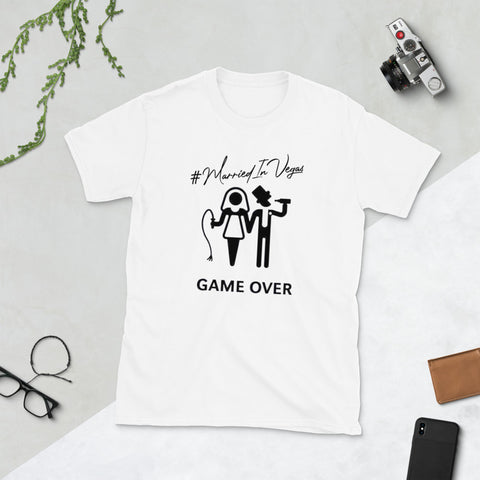 #GameOver T-Shirt | #MarriedInVegas Studios