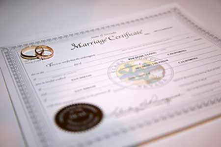 Express Expedited Marriage Certificate | #MarriedInVegas Studios