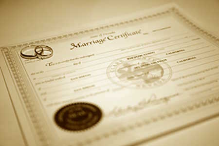 Next Day Expedited Marriage Certificate | #MarriedInVegas Studios