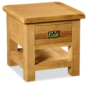 Dartmoor Lamp Table With Drawer