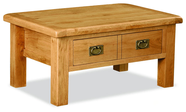 Dartmoor Coffee Table With Drawers